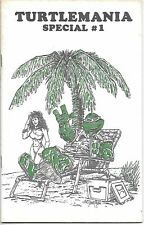 Teenage Mutant Ninja Turtles Turtlemania Special Comic Book #1 Mirage 1986 FINE