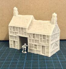 15mm / 10mm Wargame building. Gatehouse- Wargame Scenery. Terrain