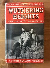 Wuthering Heights by Emily Bronte, Collins, Circa 1939 Film Tie In Edition.