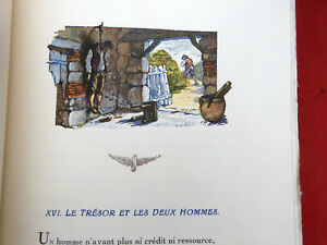 Fables Choisies par LA FONTAINE illustré MALASSIS & MONET 3/3 1930  27