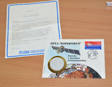 GÖDE Numisbrief - DSF1 - Kopernikus 1989, Medaille Meissner Porzellan, limitiert