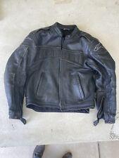 Alpinestars Black Med Leather Jacket