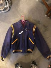 1959 Wadena Golden Gloves Boxing Jacket with 4 UMGG PINS Letterman Coat