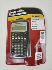 New ListingTexas Instruments Ba Ii Plus Professional Financial Calculator