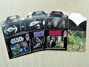 Star Wars 1996 Taco Bell Trilogy Complete Set of 3 Boxes