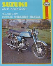 Haynes Manual 0328-Suzuki AP50, A50 y AS50 (69 - 77) | Ltd Edition volver a imprimir