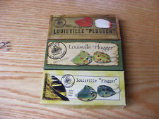 Beautiful Vintage 2007 Set of 3 NFLCC Club Lures Including Rare Red and White