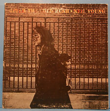 Neil Young After The Gold Rush Lp 1970 Original Poster Plays Great! Vg/Vg+!A