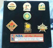 NBA All Star Game Pins Box Set 1988-94 Chicago Jordan MVP Dunk Champ Magic Shaq
