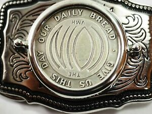 Give us this Day Our Daily Bread Mishlers Krause Publications Belt Buckle