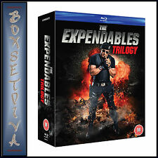 THE EXPENDABLES TRILOGY -  1 2 & 3 **BRAND NEW BLU-RAY BOXSET**
