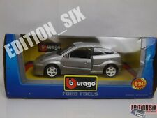 Burago 1:24 FORD FOCUS RS Wrc race car New boxed silver
