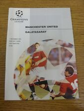 07/12/1994 Manchester United v Galatasaray [UEFA Champions League] . Thanks for
