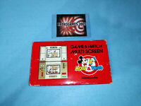 NINTENDO GAME & WATCH MICKEY AND DONALD DM-53   MULTISCREEN  BOXED  G&W