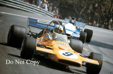 Denis hulme mclaren M19A spanish gp 1971 photographie