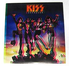 KISS Destroyer 1976 Promo STICKER Gene SIMMONS Paul STANLEY UNUSED Print Error