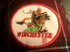 "WINCHESTER FIREARMS PATCH 3.5"" X 3"" IRON ON OR SEW ON US SELLER FREE SHIPPING"