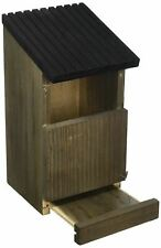 More details for gardman wild bird garden outdoor wooden small robin nest box house shelter