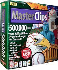 IMSI - MasterClips - 500,000+ - 28 CDs - One Book - Clip Art - Master Photos