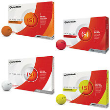 TaylorMade Project (s) Golf Balls New Tour Dual Distance Sleeve Dozen Pack