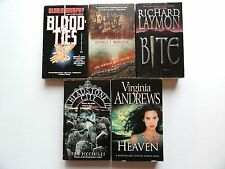 5 HORROR THRILLERS * River Runs Red * Bloodties * Bite * Heaven * Headstone City