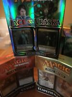 MTG Magic The Gathering Duel Deck Lot Of 3 & 2 Starter Deck Brand New and Sealed