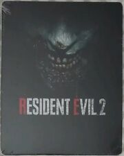 Resident Evil 2 Remake Steelbook ONLY No Game - 🔥 SHIPPING NOW 🔥 - SEALED