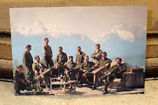 """The Real """"Band of Brothers"""" World War 2 Tv Series Tabletop Standee 10 1/2 Wide"""