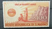 FRANCOBOLLI SAN MARINO 1946 ASSISTENZA AI DANNEGGIATI DELLA GUERRA MH* (C.4)
