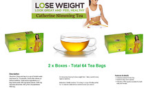 CATHERINE HERB DIET TEA Natural slimming - 2 BOXES  Total 64 Tea Bags