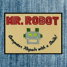 Mr Robot High Quality Vinyl Iron Patch Tv Fsociety 2017 Fast Shipping Worldwide