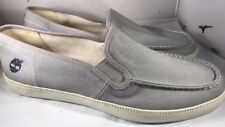 Timberland Gray Canvas Shoes Men Size 13 A155K NWOB