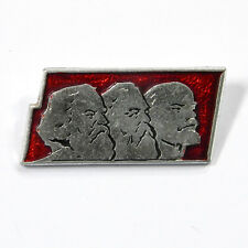 Odznaka wpinka pin badge Marx Engels Lenin