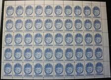 Canada #354, MNH OG Sheet Of 50, Halifax Bicentenary, U.R. Plate #1