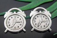 Free Ship 100Pcs Tibetan Silver Watch Charms Pendants 18x14mm