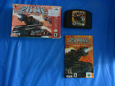 Battlezone: Rise of the Black Dogs (Nintendo 64 2000) N64 COMPLETE w/ Box manual