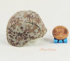 1/6 Scale Action Figur G I Joe Military Combat Camouflage M88 Helmet K1025_K