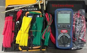 Digital Earth Ground Resistance Meter Tester & DC AC Voltage Measure DT-5300B