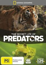 National Geographic - Secret Life Of Predators (DVD, 2013, 2-Disc Set) Region 4