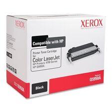 6R1330 OEM XEROX (HP Q5950A) 643A BLACK TONER CARTRIDGE COLOR LASERJET 4700