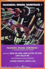 U2 Brian Eno 1995 Passengers Original Soundtracks Promo Poster