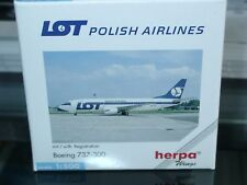 Herpa Wings B737-300 LOT - Polish Airlines - 511926 - 1:500