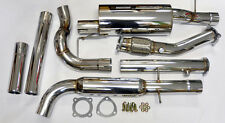 "VW Golf GTi Jetta MK4 99-04 1.8L 3"" Turbo Back Exhaust Catback 1.8T w/ Downpipe"