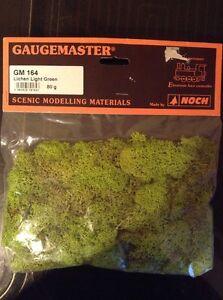Gaugemaster GM164. Lichen. Light Green. 80g Pack.
