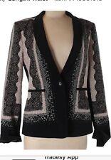"BCBGMAXAZRIA Blazer ""BRAYDEN""Jacket XS BNWOT RRP$249"