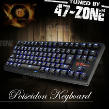 Thermaltake eSports Poseidon ZX Brown Switch Edition LED Backlit Gaming Keyboard