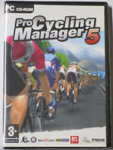 Video Game PC Pro Cycling Manager 5 NEW SEALED