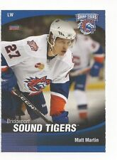 2009-10 Bridgeport Sound Tigers (AHL) Matt Martin (Toronto Maple Leafs)