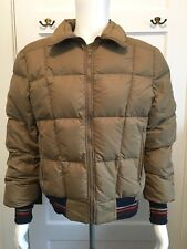 d12c3951a7 Vintage Black Bear Down Jacket Retro Ski Coat Brown Size Medium Seattle WA