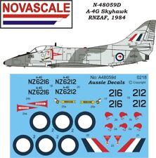 RNZAF A-4G Skyhawk Mini-Set Decals 1/48 Scale N48059d
